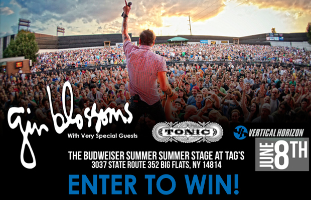 Gin Blossoms Sweepstakes! | WYXL-HD2 96 7 The Vine